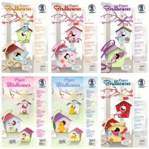 "Vogelhaus Bastelset ""Paper Birdhouses"""