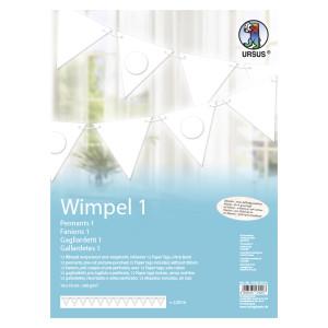 """Wimpel 1 """"Blanko"""""""