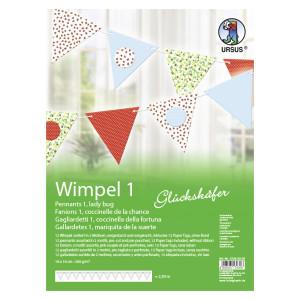 """Wimpel 1 """"Glückskäfer"""""""