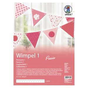 """Wimpel 1 """"Poesie"""""""