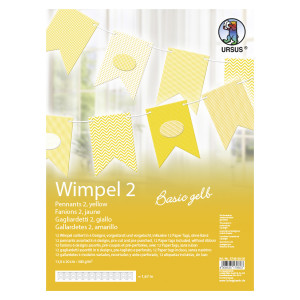 "Wimpel 2 ""Basic gelb"""