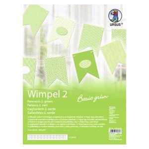 """Wimpel 2 """"Basic grün"""""""