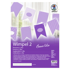 "Wimpel 2 ""Basic lila"""