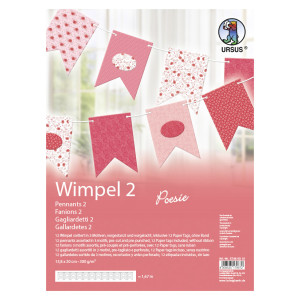 """Wimpel 2 """"Poesie"""""""
