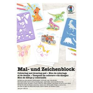 """Zeichenblock """"Teddybär"""" 120 g/qm DIN A4 - 20 Blatt"""