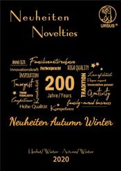 Neuheiten Herbst/Winter 2020