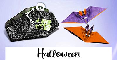 Halloween-Produkte von Bunterpapierwelt