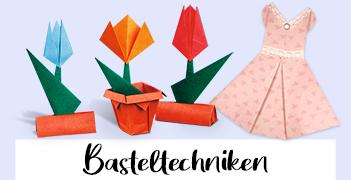 Basteltechniken von Buntpapierwelt