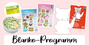 Blanko-Programm für Kreative